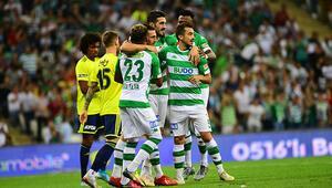Bursaspor'un gençleri değerlerini artırdı Ali ve Emirhan...
