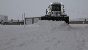 Bitlis'te kar 50 köy yolunu ulaşıma kapattı