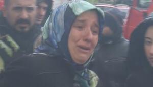 Fatihte panik anları... Gözyaşları içinde izledi