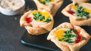 Hafta Sonu Kahvaltılarına: Yumurtalı Muffin Tarifi
