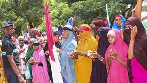 Somalide teröre tepki yürüyüşü