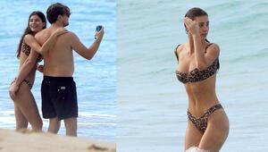 Leonardo DiCaprio ile sevgilisi Camila Morronenin tatil coşkusu