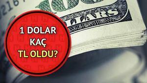 Dolar bugün ne kadar oldu 1 dolar kaç TLye karşılık geliyor