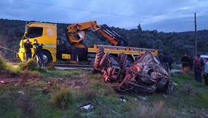 Milas'ta traktör devrildi, sürücü öldü