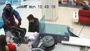 Yer Bursa... Banka soygunu böyle görüntülendi