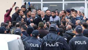 Nakliyecilerin eylemine polis izin vermedi Gözaltılar var...