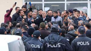 Nakliyecilerin eylemine polis izin vermedi