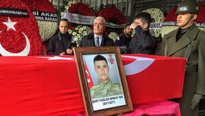 Şehit Piyade Er Berkay Işık için İstanbulda tören
