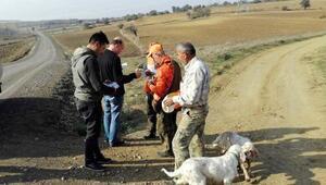 Tekirdağda kaçak avcılara 141 bin lira ceza