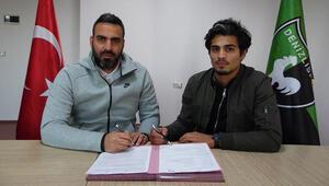 Muhammet Özkal resmen Denizlisporda 4.5 yıllık imza...