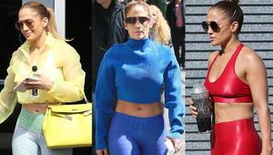 Her Daim Şık: Jennifer Lopezin Spor Stili