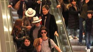 Hollywoodun ünlü çifti tatil için İstanbula geldi