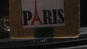 Kamyonette üzerinde Paris yazılı paketlerden 77 kilo eroin çıktı
