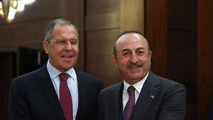 Bakan Çavuşoğlundan Rusya ile önemli görüşme