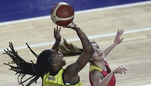 Çankaya Üniversitesi: 77 - Bellona Kayseri Basketbol: 52