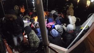 Çanakkalede 37 kaçak göçmen yakalandı