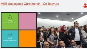 Sözleşmeli öğretmenlik başvuruları başladı – MEB İKGM başvuru sayfası