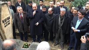 Mehmet Akif İnan, anıldı