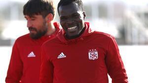 Sivasspor'un en hırçın futbolcusu Isaac Cofie