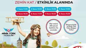 Sömestir tatilinde Minik Türk Yıldızları etkinliği