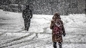Kar nedeniyle Mersinde yarın okullar tatil mi 7 Ocak Mersin son dakika kar tatili açıklaması
