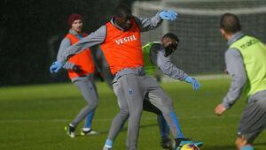 Trabzonsporda Badou Ndiaye antrenmanlara başladı