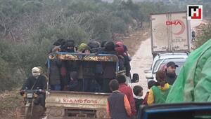 İdlibten göç edenlerin sayısı 367 bine ulaştı