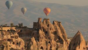 Kapadokyada turist sayısında tüm zamanların rekoru kırıldı