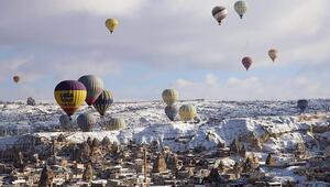 Kapadokya'yı 2019'da 3 milyon 834 bin turist ziyaret etti