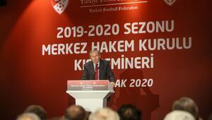 MHK Başkanı Zekeriya Alp: Hakem kardeşlerimiz gerekli dersleri çıkarttılar ve ikinci yarıda inanıyorum performanslarını yukarı çekeceklerdir
