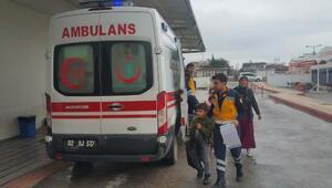 Sobadan zehirlenen 4 kişilik aile hastaneye kaldırıldı