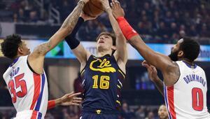 NBAde Cedi Osmanın 17 sayısı, Cleveland Cavaliersa galibiyet için yetmedi