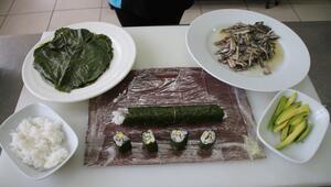 Uzak Doğu ile Karadeniz mutfağını birleştirdiler: Hamsili suşi