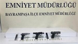 Bayrampaşa'da silahlı saldırı şüphelisi yakalandı