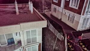 İstinat duvarı çöktü, binalar boşaltıldı