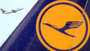 Lufthansa da uçuşlarını iptal etti