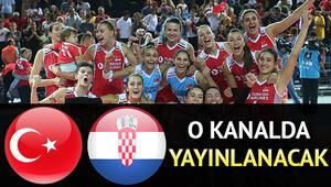 Türkiye Hırvatistan voleybol milli maçı hangi kanalda