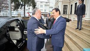 MGK Genel Sekreteri, Bolu Valiliğini ziyaret etti