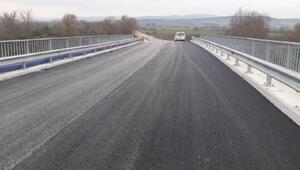 Yeniden yapılan Kızıksa Köprüsü trafiğe açıldı