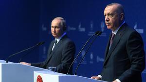 Son dakika... Erdoğan ve Putin açılışın ardından ikinci kez görüştü