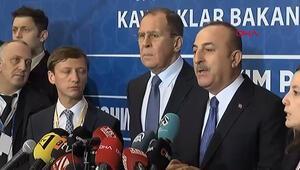 Çavuşoğlu: Erdoğan ve Putin Libya için ateşkes çağrısı yapıyor