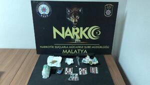 Malatyada uyuşturucuya: 1 tutuklama
