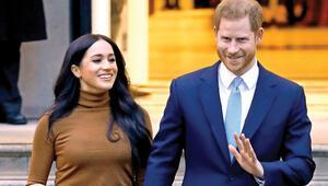 İngiltere şokta Prens Harry ve ABD'li eşi Meghan Markle saraydan taşınıyor...