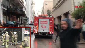 Son dakika haberi: Beyoğlunda inşaat halinde bina çöktü