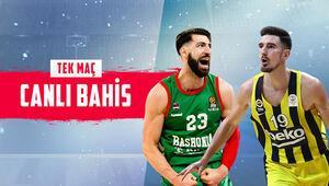 Fenerbahçe Beko, zorlu Saski Baskonia deplasmanında iddaada galibiyetlerine...
