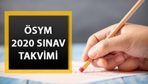 KPSS başvurusu ne zaman başlayacak 2020 KPSS sınav ve başvuru takvimi