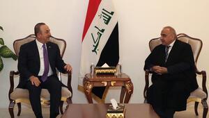 Son dakika haberi: Bakan Çavuşoğlu Irak Başbakanı ile görüştü