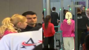 Aleyna Tilki havalimanında olay çıkardı...İlk açıklama