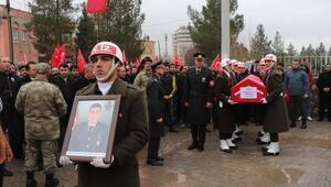 Şehit Uzman Onbaşı Akbulut, Mardinde son yolculuğuna uğurlandı