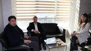 Bilgi Denizi Özel Öğretim Kursu yöneticilerinden DHAya ziyaret
